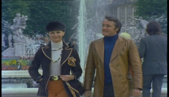 Nyree Dawn Porter and Robert Vaughn