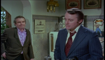 Shane Rimmer and Robert Vaughn