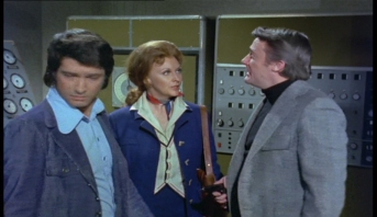 Nyree Dawn Porter Tony Anholt and Robert Vaughn