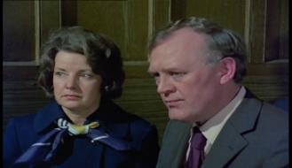 Joss Ackland and Gwen Cherrell