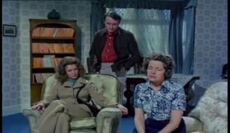 Gwen Cherrell, Nyree Dawn Porter and Robert Vaughn