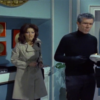 Kate O'Mara and Kieron Moore
