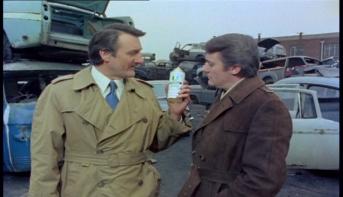 Robert Vaughn and Peter Jeffrey