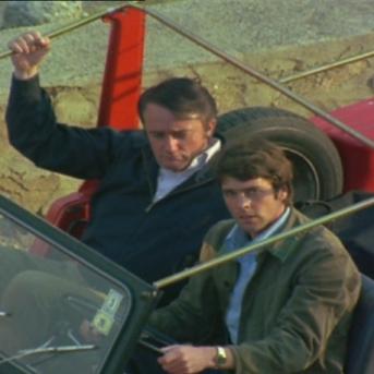 Richard Morant and Robert Vaughn