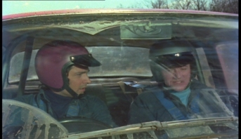 Tony Anholt and Robert Vaughn