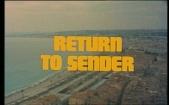 The Adventurer_Return to Sender Title Shot