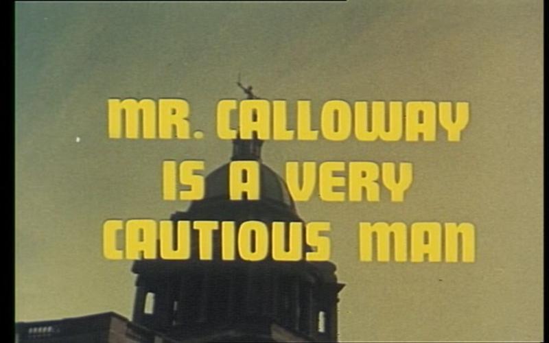 The Adventurer_Mr Calloway is a very Cautious Man Title Shot