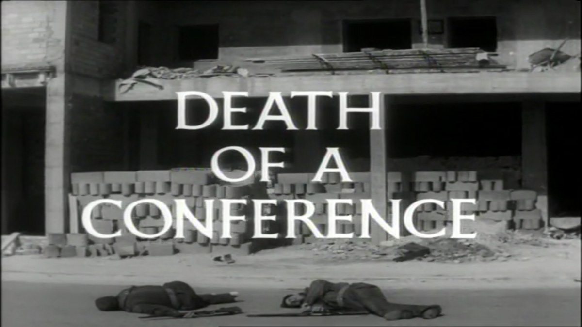 Man of the World_Death of a Conference_Title Card